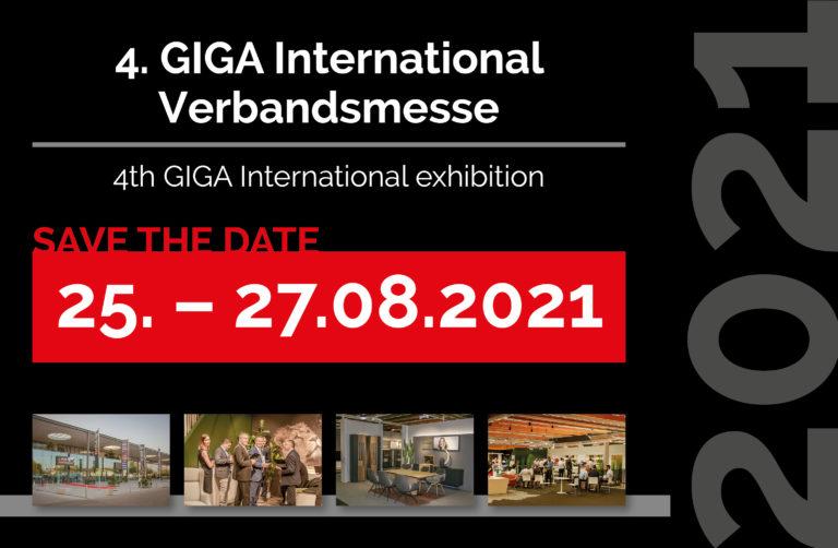Save the date – 4. GIGA International Verbandsmesse in Wels